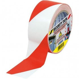 SECURITY TAPE BIANCO/ROSSO